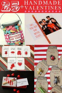 25  Handmade Valentines Ideas.
