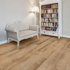 TrafficMASTER Allure Ultra Wide in. Golden Oak Light Resilient Vinyl Plank Flooring with SimpleFit End Joint sq. / - The Home Depot Wide Plank Flooring, Vinyl Flooring, Flooring Ideas, Basement Flooring, Flooring Options, Laminate Flooring, Planking, Living Spaces, Living Room