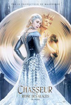Emily Blunt et Charlize Theron s'affichent pour Le Chasseur et La Reine des glaces