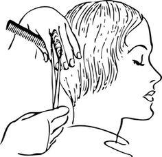 Women S Haircutting clip art - vector clip art online, royalty free & public domain Short Choppy Hair, Hair Vector, Dentist In, Black And White Drawing, Cosmetic Dentistry, Online Art, Wedding Hairstyles, Hair Cuts, Hair Beauty