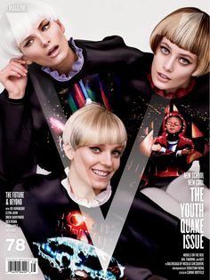 Sky Ferreira, Grimes, Charli XCXV, Stef van der Laan, Daniela Braga, Kati Nescher, and More on the Cover of V Magazine #48
