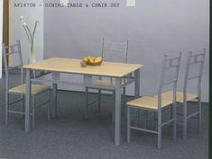 कुर्सी, MDF फर्नीचर, भोजन फर्नीचर, भोजन कुर्सियों के साथ कांच डेस्क टॉप मेज के साथ OEM धातु Glass Dining Table, Dining Table Chairs, Metal, Furniture, Home Decor, Decoration Home, Glass Top Dining Table, Room Decor, Home Furnishings