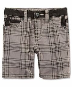 GUESS Baby Boys' Contrast-Waistband Shorts