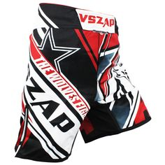 Men's printing VSZAP CONFLICT MMA fight shorts fitness fitness male Muay Thai Polyester Kick Gel cheap mma shorts men boxeo