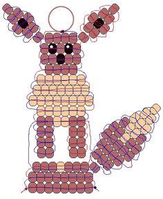 Easy Pony Beads Pokemon Patterns