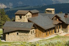 Alluring Slate Roof house designs Rustic Exterior copper exposed gable roof heavy historic Mediterranean modern natives natural planting planking purlins shed roof slate roofing stone stucco texture timber Tuscan