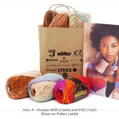 Heart Scarf - Knit Kit - A