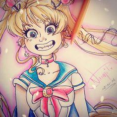 My draw of sailor moon 🌟✨