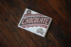 Mexican Style #Chocolate from Olive Sinclair made in #Nashville. #StockingStuffer #HolidayGifts