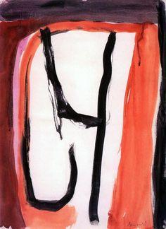 Zonder Titel, Grimaud, 1980, gouache, 63,7 x 47,5 cm