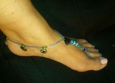 Under the Sea Ocean Colors, Bare Foot Sandals, Barefoot, Charms, Sea, Weddings, Summer Dresses, Crystals, Bracelets