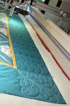 Free Range Quilting - Custom Long Arm Quilting on an Innova by Tanya Heldman