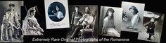 Russian Romanov Family Photographs, Tsar Nicholas II, Tsarevich Alexei - click here