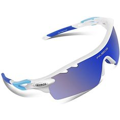 RIVBOS 801 Polarized Sports Sunglasses Sun Glasses with 5 Interchangeable Lenses for Men Women Baseball Cycling Runing >>> You can find out more details at the link of the image. (This is an affiliate link) #Accessories