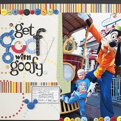 Scrapbook Disney Vacation Photos
