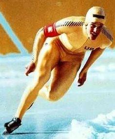 Eric Heiden - Speed Skating, 1980 Lake Placid, New York