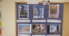 Προσεγγίσαμε το θέμα του Πολυτεχνείου μέσα από πίνακες του Γιάννη Γαΐτη. Επιλέξαμε πίνακες του ζωγράφου και αφήσαμε τα παιδιά να τους βάλ... Frame, Blog, Home Decor, Picture Frame, Decoration Home, Room Decor, Blogging, Frames, Home Interior Design