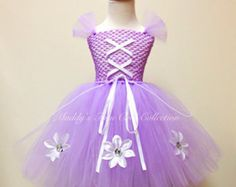 Sofia the First Inspired Tutu Dress by naturalbabydresses on Etsy