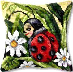 Counted Cross Stitch Kits, Cross Stitch Embroidery, Cross Stitch Patterns, Hama Beads Patterns, Beading Patterns, Pillow Crafts, Diamond Art, Pixel Art, Needlepoint