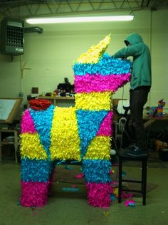 This massive Pinata would have definitely made it into Troy. We don't know about having lots of soldiers inside, though.