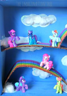 My little pony magical small world in a box