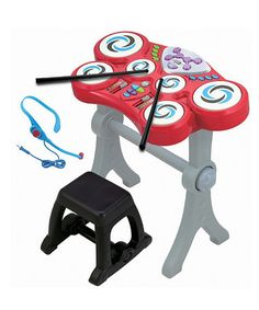 For the budding musician -  Rockin' Beats Drum Set by Winfun