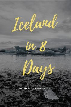 If you only had 8 days in Iceland, what would you do? See a detailed itinerary with valuable tips & all you need to know to plan your trip.