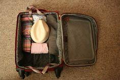 Cómo llevar un sombrero en tu equipaje de mano. #BeTraveling
