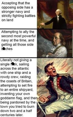 21 'Murican Memes & Posts That *Anyone* Can Laugh At humor History Jokes, History Facts, Funny History, Stupid Funny, Funny Jokes, Hilarious, Funniest Memes, Excuse Moi, Info Board