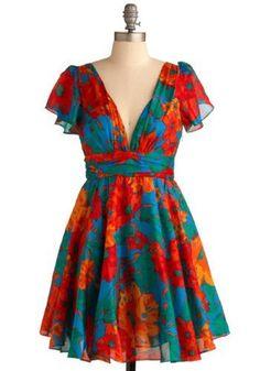 Tropical Dreams Dress - ModCloth - $87.99 loushea