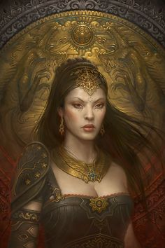 Veronique de Lacy. Human Wizardress. Neutral Evil. Daughter of Baron de Lacy, friend of a black dragon named Ardala.