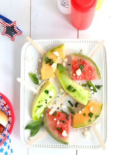 Summer fruit wands: http://www.stylemepretty.com/living/2015/05/21/26-foods-even-more-fun-on-a-stick/