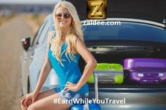 Sharing economy is changing the rules of the game. Are you in the Game? Be a #SmartTraveler ! Earn While you Travel using ZALDEE App ❤️ Download ZALDEE app. It's FREE on App Store and Play store.  Zaldee® - earn while you travel®, is the coolest way to earn money from excess baggage space available with you while traveling anywhere.  ✈️ #ZALDEE #EarnWhileYouTravel #ShipOnDemand #package #luggage #baggage #journey #courier #ExcessBaggage #shipping #travel #traveling #sharing #BudgetTravel