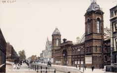 The Royal Agricultural Hall, Liverpool Road postcard London History, Local History, Vintage London, Old London, Old Pictures, Old Photos, Greater London, English Countryside, Historical Pictures
