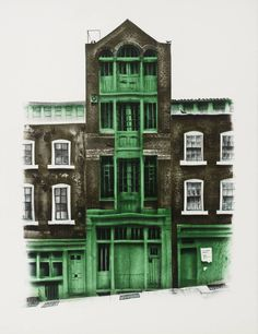 'Warehouse in Mercer St', David Gentleman | Tate