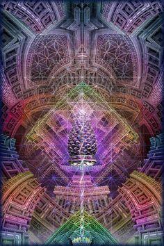 Radiant Pinecone – Third Eye Tapestries