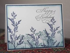 Birthday in Blue by CAKath - Cards and Paper Crafts at Splitcoaststampers