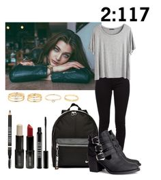 """Teen wolf"" by teddy-bear-princess on Polyvore featuring Mode, Burberry, Chicnova Fashion, NIKE, H&M und Lord & Berry"