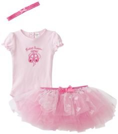 BabyGear Baby-Girls Newborn 3 Piece Bodysuit, Baby Pink, 9-12 Months