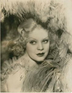 Alice Faye  22 Awesome Vintage Portrait Photos with Autographs of Her in the 1930s