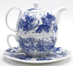 Roy Kirkham English Chintz Teapot for One