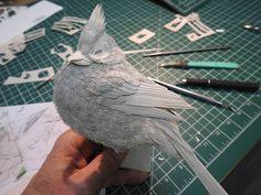 Calvin Nicholls erschafft wunderschöne Tierwelten aus Papier - detailverliebt.de