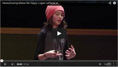 Let's learn how to be happy and healthy. An impressive speach of a 13 year old boy. For me this would be my personal life goal. xx Kathi