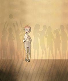 made by: Lisa Aisato Boy Illustration, Bullying, Character Art, Science Fiction, Illustrators, Art For Kids, Brave, Fantasy Art, Children