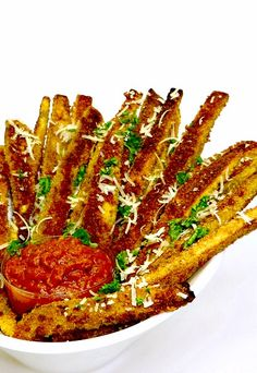 Eggplant Parm Fries