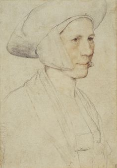 Hans Holbein the Younger, An unidentified woman (1526-28, Royal Collection, London)
