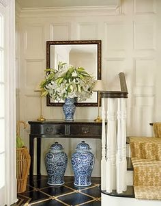 Chinoiserie Chic: The Top Twenty Blue and White Rooms