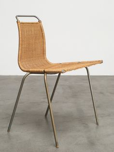 Poul Kjaerholm PK1 dinning chair Kold Christensen 1956 | http://www.furniture-love.com/browse.php | 20th century Modern online gallery. Featuring a large and varied selection of quality vintage pieces | Shipping worldwide.
