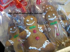 La Belle Auberge: Gingerbread Men. Omini di pan di zenzero