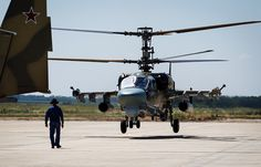 Russia's Alligator attack helicopter's land version to get folding blades